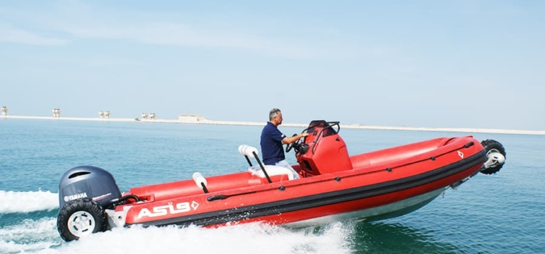 Fire Rescue Amphibious Craft 7.1m