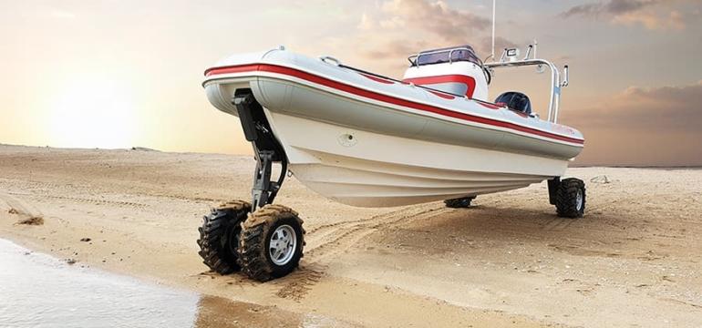 Amphibious Boat at DIBS