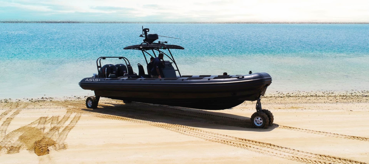 professional amphibious craft