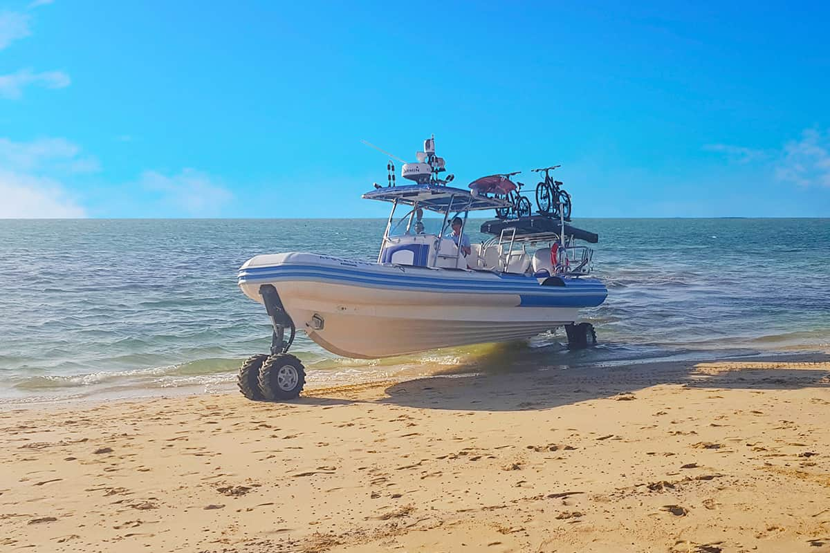 recreational amphibious boats