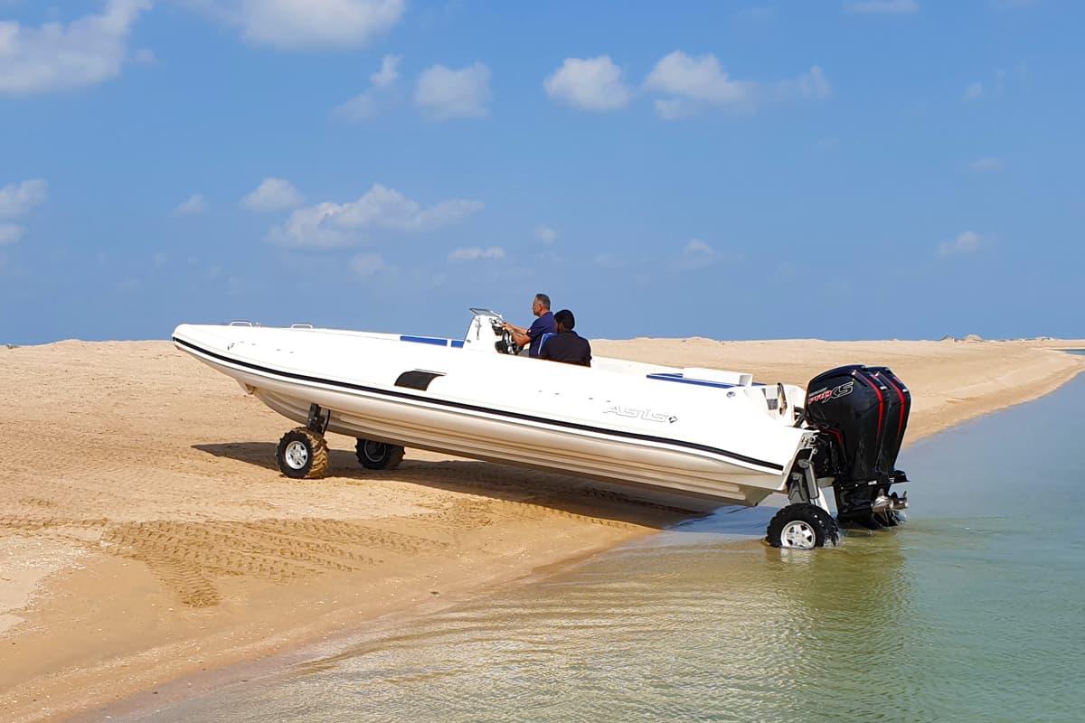 asis beachlander amphibious boat