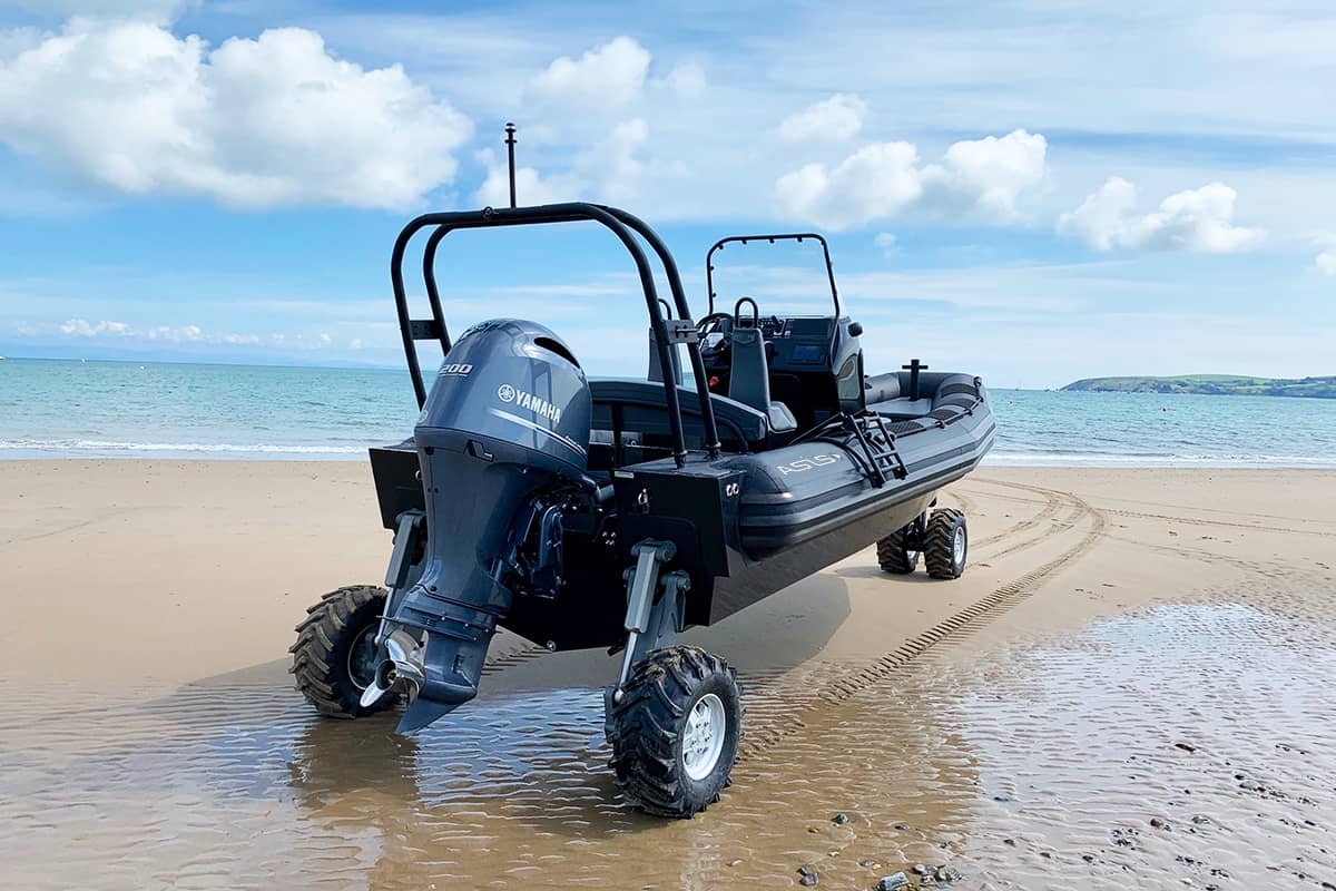 amphibious craft 7.1m