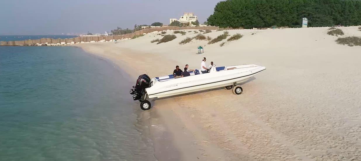 amphibious beachlander RIB Boat