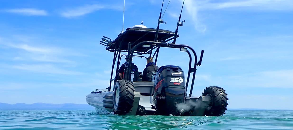 amphibious boat 8.4m fishing