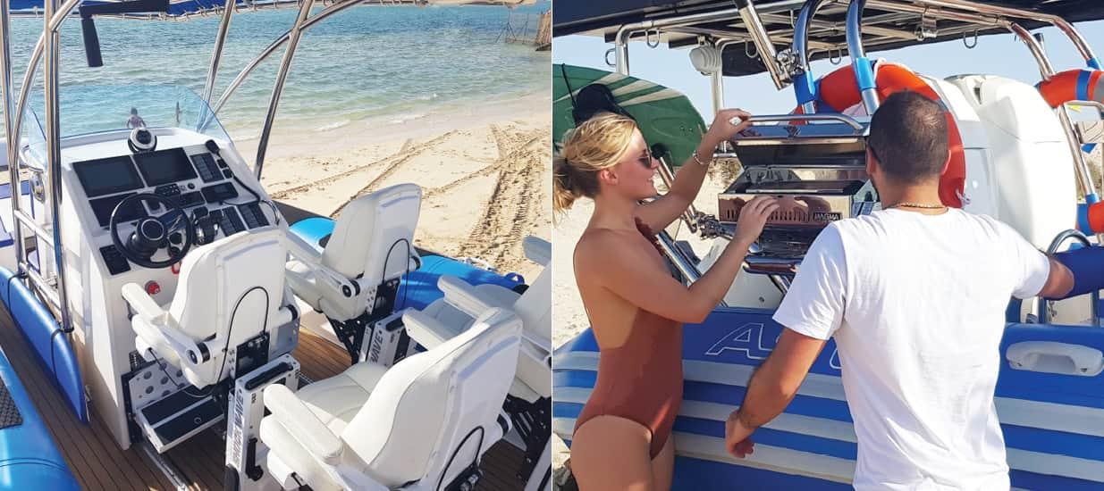 amphibious boat accessories