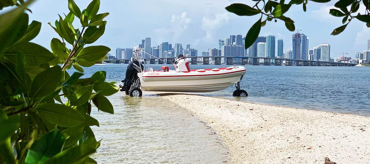 amphibious boat in miami