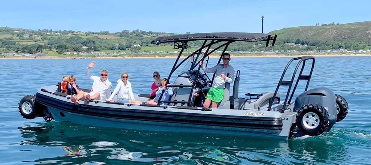 amphibious boat 8.4m in pwllheli