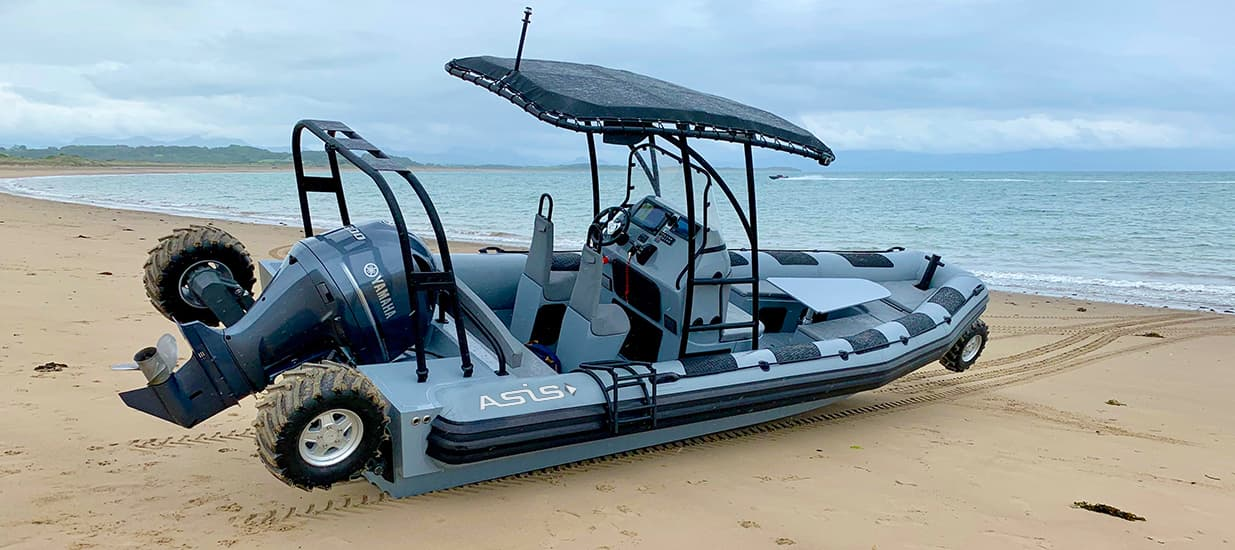 asis amphibious craft 8.4 meter