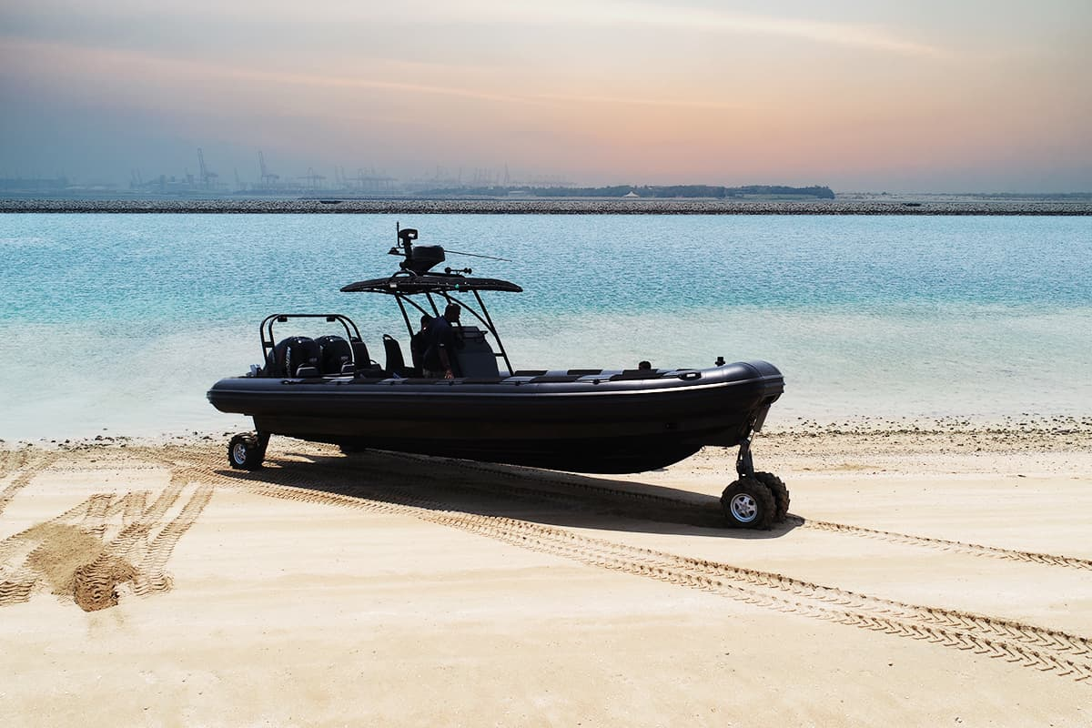 amphibious craft 9.8M