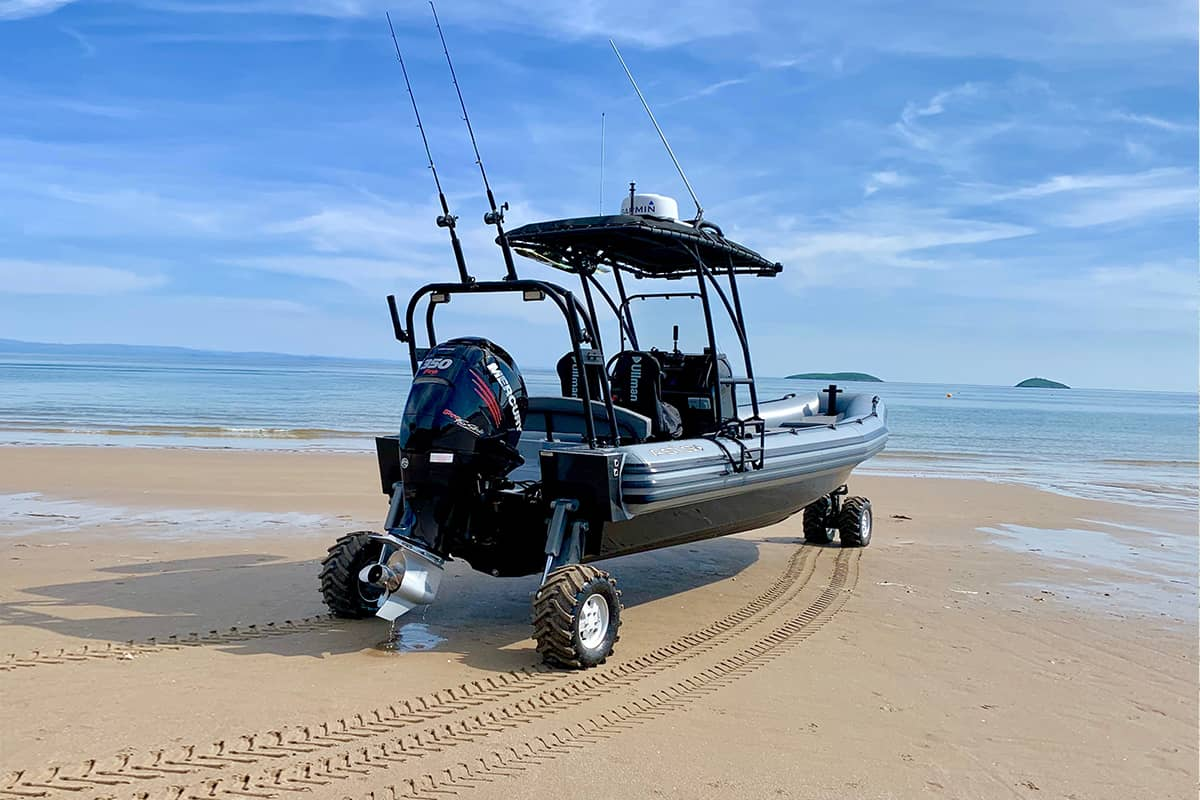 asis amphibious craft