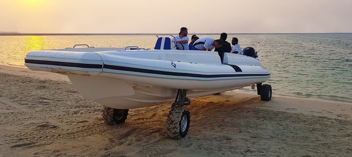 best amphibious beachlander boat