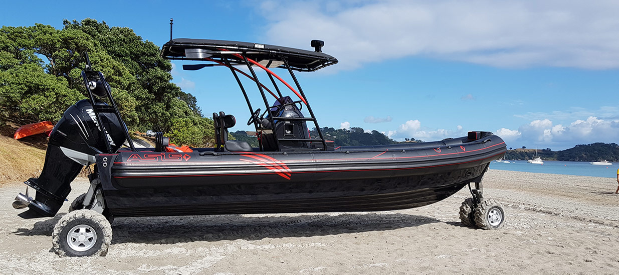 ASIS-Amphibious-4WD-customized-boat