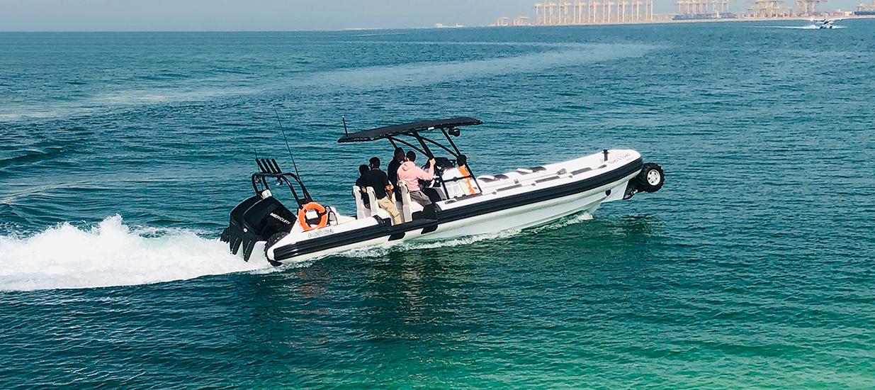 amphibious rib boat