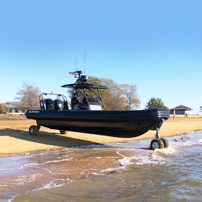 professional amphibious boat